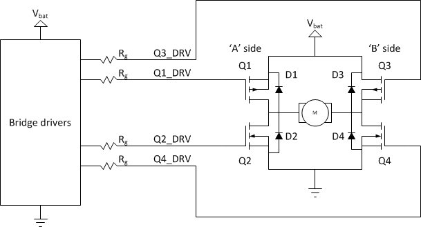 h bridge drivers modular circuits